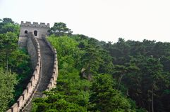 The Great Wall section Stock Photos