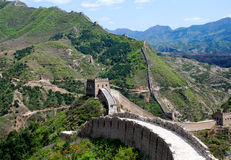 Great wall in Simatai Stock Photo