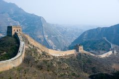 Great wall at Simatai Stock Photography