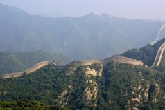 The Great Wall, a site Badaling. Royalty Free Stock Image