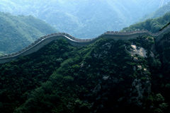 Great wall or snake? Royalty Free Stock Photo