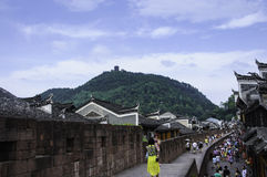 the great wall in south of China Stock Image