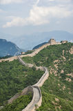 Great wall. Spectacular great wall in China Royalty Free Stock Photography