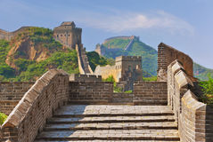 Great Wall in Summer Royalty Free Stock Image