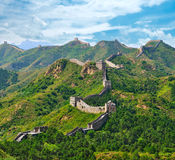Great Wall in Summer Stock Photos