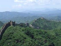 Great wall terrace panorama at Jinshanling in China Stock Photography