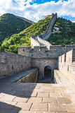 The Great Wall of the top of the mountain, China Stock Photography