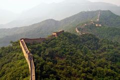 The Great Wall view Royalty Free Stock Photo