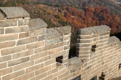 The Great Wall the wall Royalty Free Stock Photography