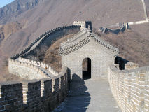 Great Wall Watchtower Stock Photography
