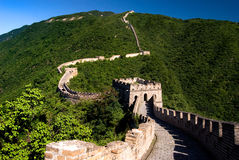 The Great Wall. World heritage site of Unesco Stock Photography