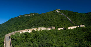 The Great Wall. World heritage site of Unesco Royalty Free Stock Photography