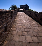 The Great Wall. World heritage site of Unesco Stock Image