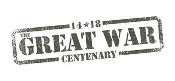 The Great War Centenary - inkpad Stock Photography