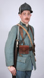 WW1 Great War French Infantryman Stock Photo