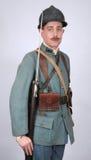 WW1 Great War French Infantryman stock photo