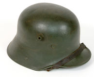 WW1 Great War German steel combat helmet. Stock Photo