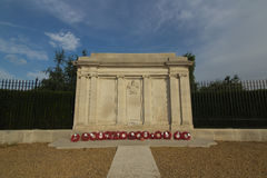 The Great War memorial in Greenwich, UK Royalty Free Stock Photos