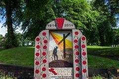 Great War Memorial Stock Photo