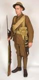 Great War Royal Naval Division sailor 1917 stock image