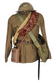 Great War soldier equipment Stock Photo