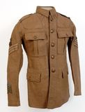 Great War uniform Stock Photos