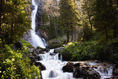 Great waterfall Stock Photography
