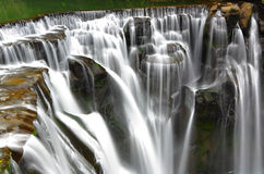 Great waterfall Stock Images