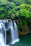 Great waterfall in taiwan Royalty Free Stock Photo