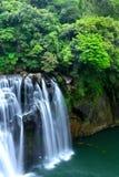 Great waterfall in taiwan Royalty Free Stock Photo