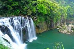 Great waterfall in taiwan royalty free stock image