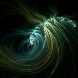 The great wave. Abstract fractal image resembling a large wave Stock Photo
