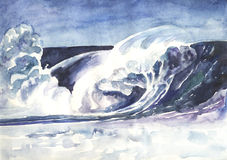 Great wave Royalty Free Stock Photography