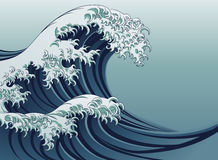 Great Wave Royalty Free Stock Image