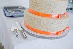 Great wedding cake Royalty Free Stock Photography