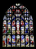 Great West Window, Minster, Kings Lynn. Royalty Free Stock Photography