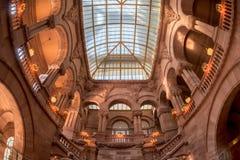 Great Western楼梯在纽约州国会大厦 免版税图库摄影