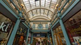 Great Western Arcade Indoor D fotografía de archivo