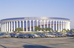 Great Western Forum, home of the LA Lakers, Inglewood, California Stock Image