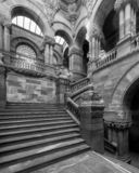 Great Western Staircase in New York State Capitol stock image