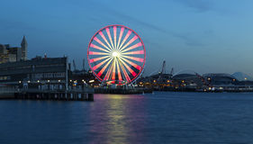 Great Wheel at Dusk Royalty Free Stock Photos