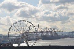 The Waterfront of Seattle, Washington State stock photos