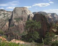 Great White Throne - Zion stock image