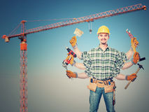 Great worker Royalty Free Stock Photography