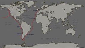 The great world tour - Francis Drake.