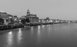 Great Yarmouth in bianco e nero - Inghilterra Fotografia Stock Libera da Diritti