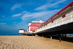 GREAT YARMOUTH  - JULY 8: The Old pier on July 8, 2010 in Great Stock Image