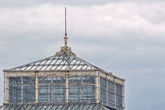 Great Yarmouth Winter Gardens historic glass building royalty free stock image