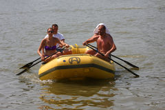 Great Zemun Regatta Stock Photo