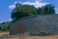 The Great Zimbabwe ruins Stock Photography